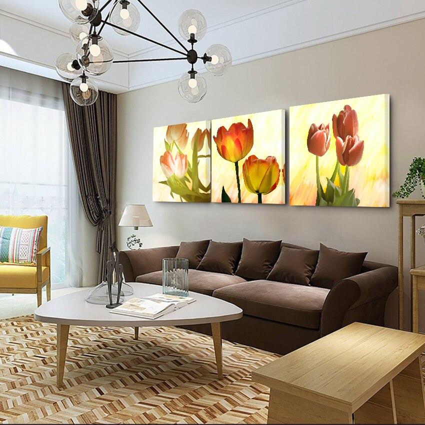 Bez rámů Olejomalba Fallout Obrazy na zeď Umění Dekorativní obrázek Obývací pokoj a ložnice Olej Obrázky Květiny