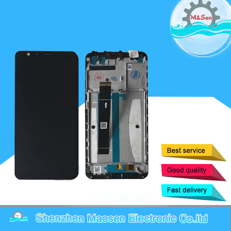 M Sen For 5 7 Asus Zenfone Max Plus M1 ZB570TL X018DC LCD Screen Display Touch