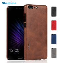 New Vintage Leather Phone Case For Leagoo T5 Ultra thin Protective Back Cover For Leagoo MTK6750T Case