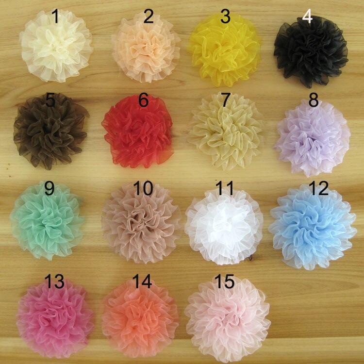 envo gratuito unidslote moda diy flores del rosetn para pelo de las vendas
