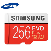 Samsung Memory Card 256GB EVO PLUS Micro Sd Card Class10 UHS 1 Speed Max 100M S