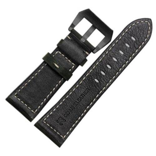 26mm Crazy Horse pin buckle Genuine Leather Watch Band  For Garmin Fenix 3/HR Black 26mm genuine leather watchband for garmin fenix 3 crazy horse leather band for fenix 3