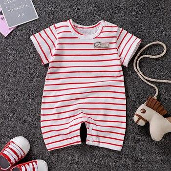 Uniesx Newborn Baby Rompers Clothing Infant Jumpsuits 100%Cotton Stripe Children Roupa De  Girls&Boys Baby Clothes 1