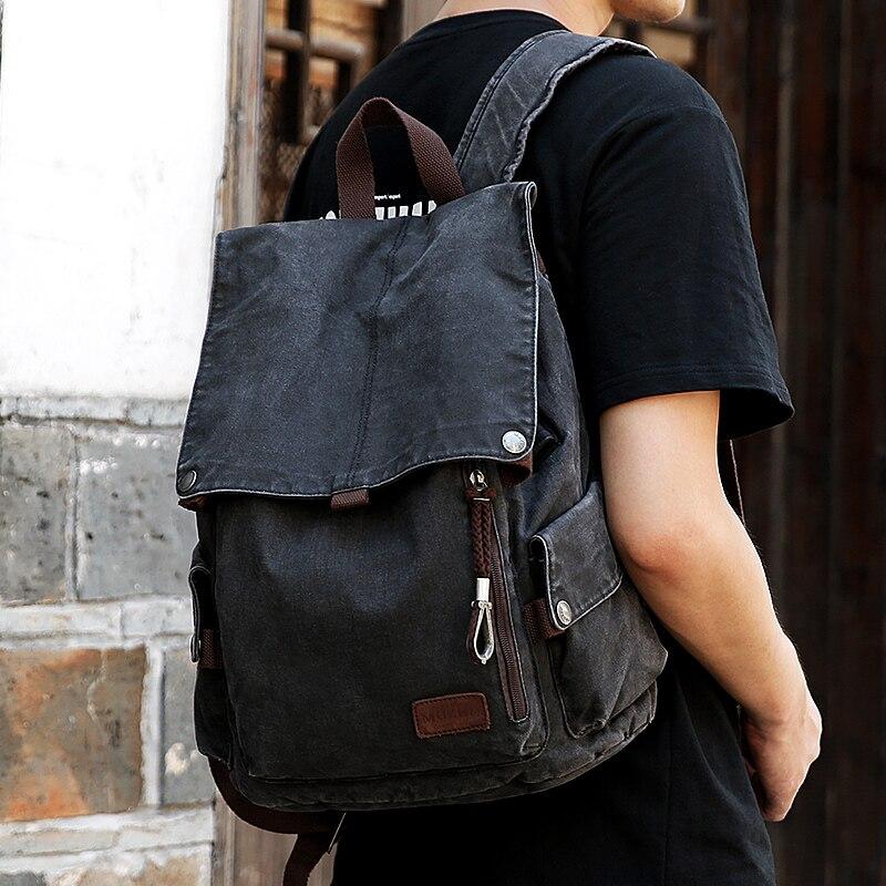 Muzee collège sac à dos hommes USB Port de charge Anti-vol Bookbag 15.6 pouces sac à dos pour ordinateur portable école hommes voyage Daypack 1883