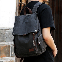 Muzee College Backpack Men USB Charging Port Anti Theft Bookbag 15.6 inch Laptop Backpack School Men Travel Daypack 1883