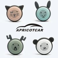 Bluetooth Car Kit Altoparlanti Mini Portatile Senza Fili Regali Creativi Mobile Phone Autoscatto Stereo Un Pulsante di Controllo