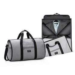 للماء السفر حقيبة رجل الملابس أكياس المرأة حقيبة كتفية للسفر 2 في 1 كبير الأمتعة القماش الخشن تحمل على الترفيه اليد حقيبة تاي