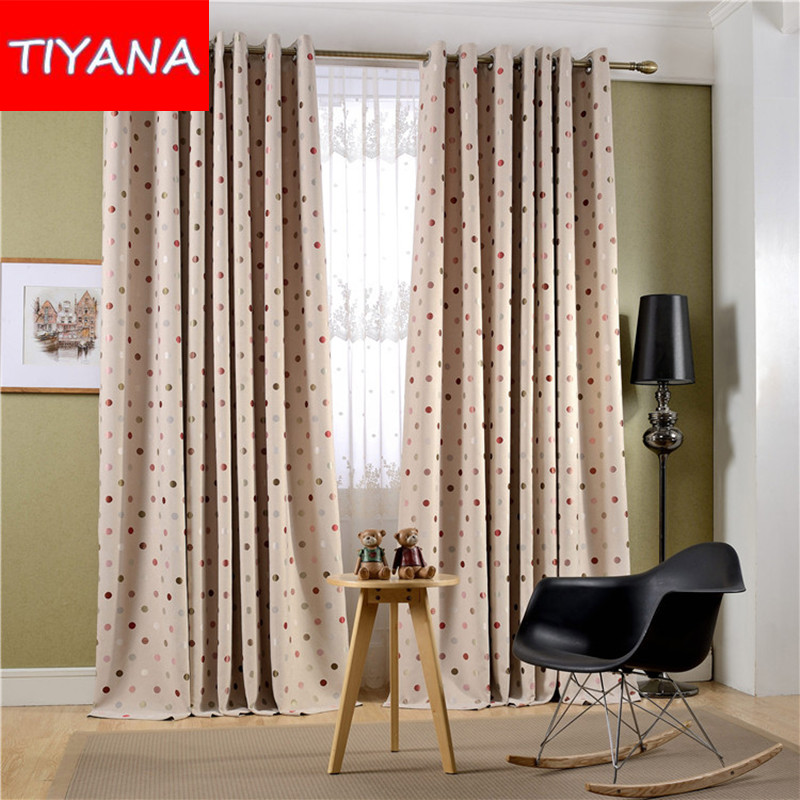 New Arrival Circle Pattern font b Curtains b font for Living Room Window font b Curtains