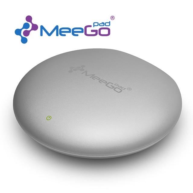 En la Acción!! Meegopad T04 Windows10 primicia mundial-Intel Trail Cereza CR Broadcom 5G WIFI Smart Fan Ventanas MINI PC HTPC