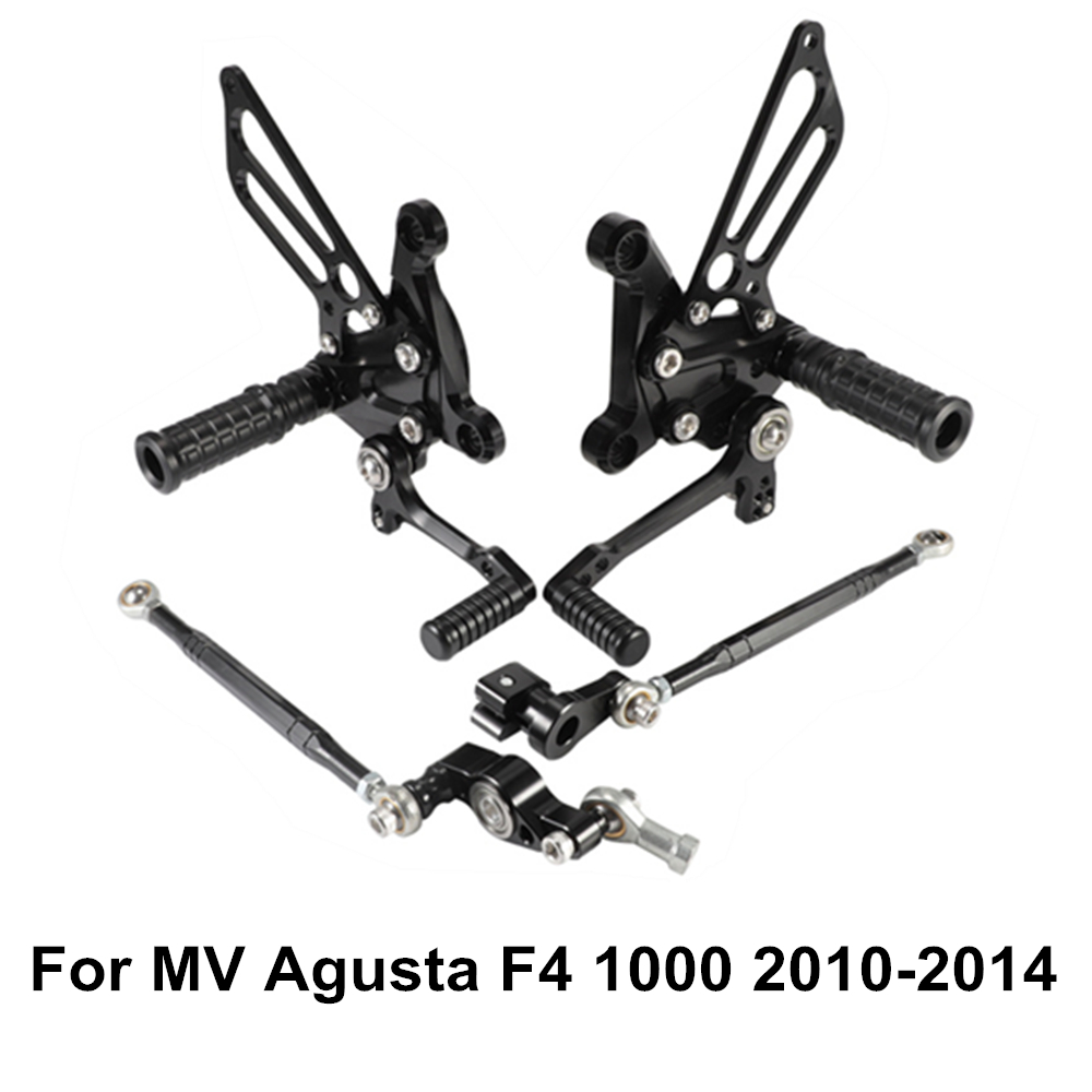 Adjustable Rearsets Rear Sets Foot Peg Pedal Suzuki GSXR600 GSXR750 11 12 13 14