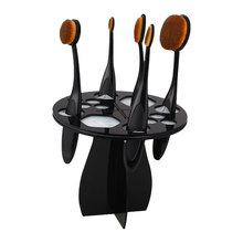 1pcs Useful Plastic Cosmetic Dryer Makeup Brushes Holder Stand Cosmetic Dryer Holder Puff Eye Shadow Pen Storage