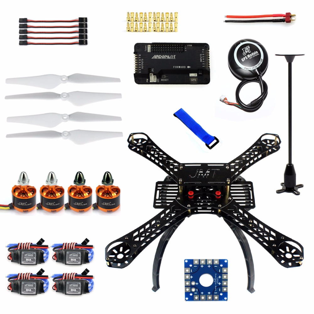 DIY RC Drone Quadrocopter X4M380L Frame Kit <font><b>APM</b></font> <font><b>2.8</b></font> Flight Control GPS Brushless Motor Quadcopter F14893-K image