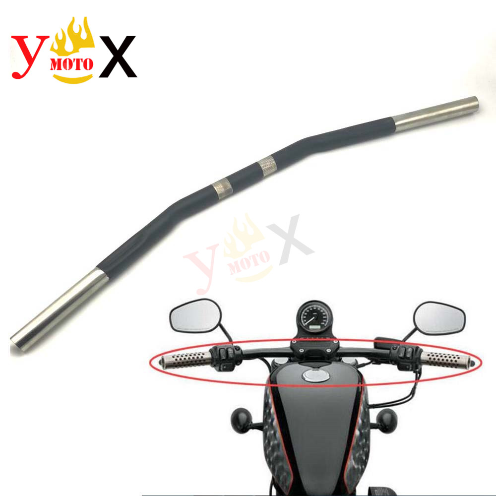Motorcycle 25MM 1 Zero Drag Handlebar Handle Bar For Harley Sportster 883 XL883 XL883L Iron XL883N