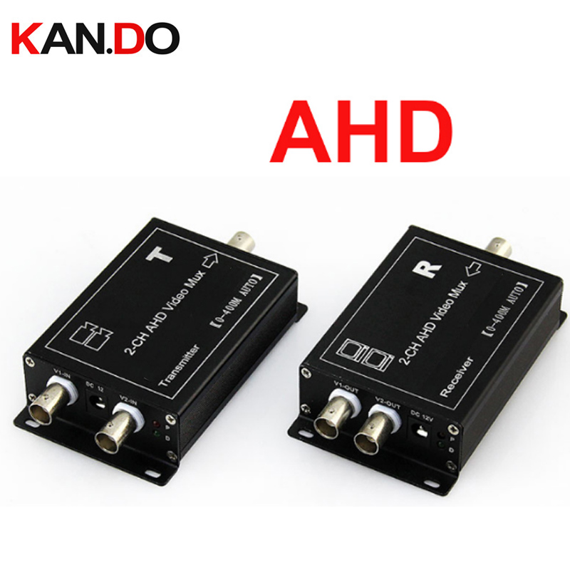 цена CCTV Camera multiplexer 2 channel AHD coaxial video multiplexer with Signal Transmission Distance AHD multiplexer