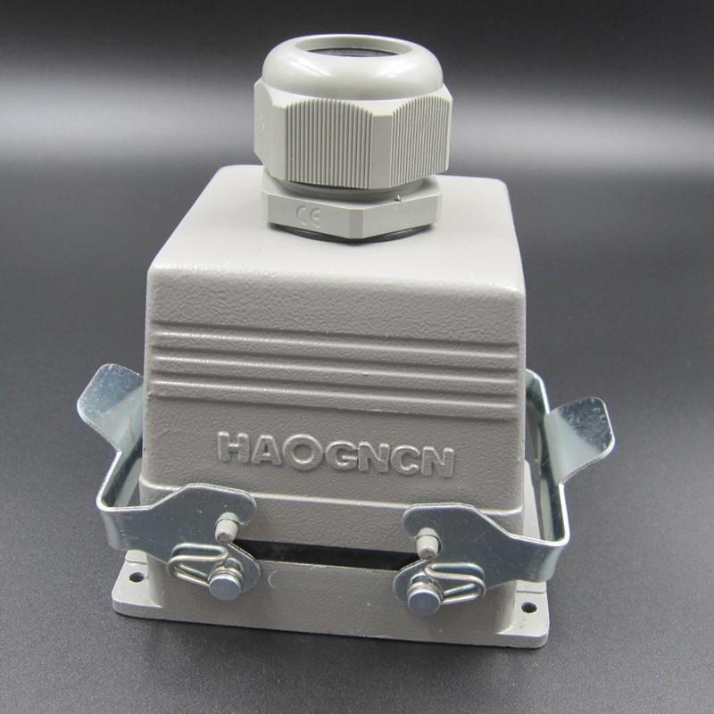 HDC HE 032 2 Zware Belasting Connector 32 Kern 16A Rechthoek Connector Warmte Flux Avenue Plug