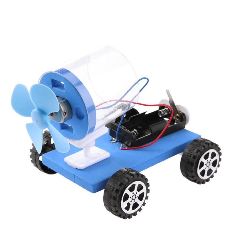 Children Toy Car DIY Assembled Universial Aerodynamics Vehicle Science Toy Baby Kits Practical Toys for Children Kids Car Toy