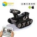 RC Tanque Espía Juguetes App Controlado Wireless Spy Tank ROVOSPY Robot de Control Remoto con La Cámara Wifi Controlado el Vehículo de Seguimiento