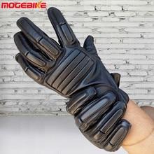 Профессиональные перчатки для мотоциклов, внедорожные гоночные перчатки, перчатки для заездов, перчатки с защитой от падения, перчатки для улицы, черные внедорожники, полный палец