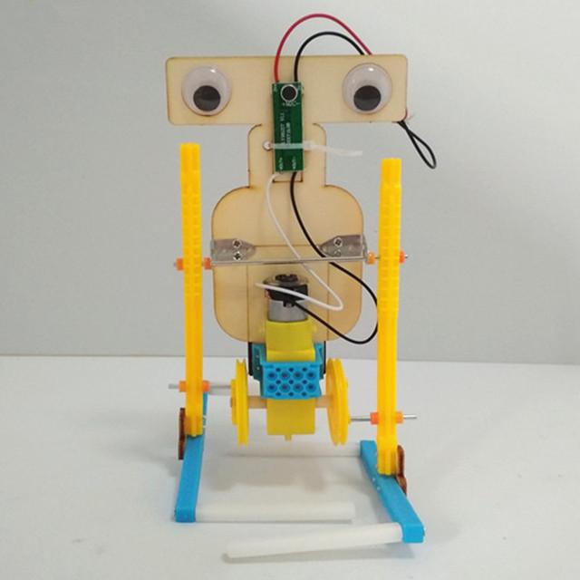 Happyxuan Voice Control Walking Robot Kit