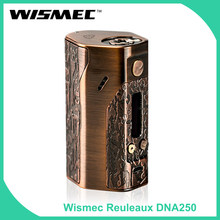 Clearance Original Wismec Reuleaux DNA 250 Box Mod Output Wattage 250W Evolv DNA250 TC/VW Mod no 18650 Battery E-Cig(China)