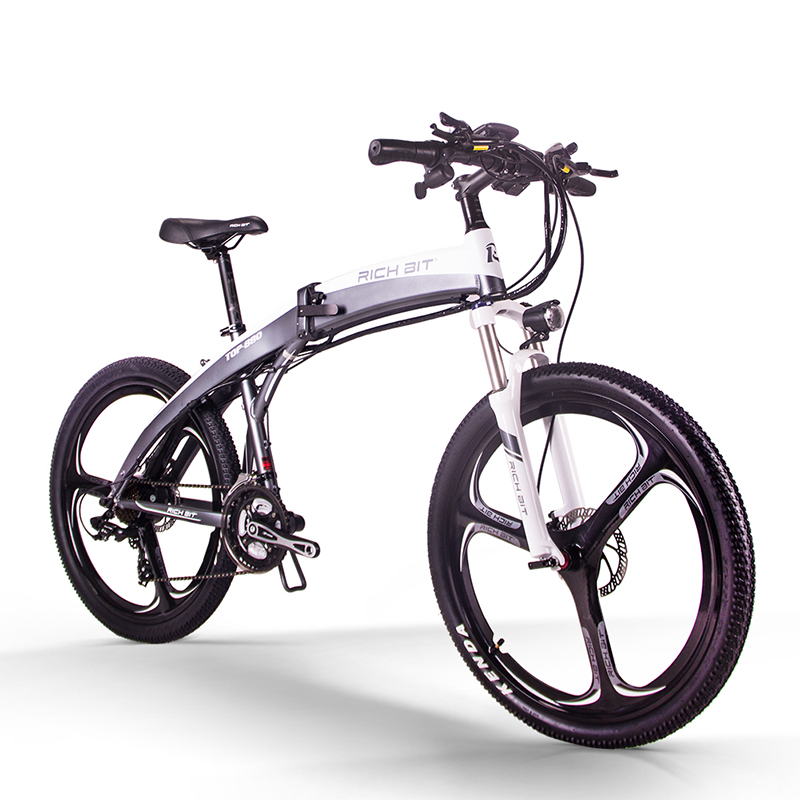 RichBit Neue RT-880 Elektrische Fahrrad Klapp ebike Berg Elektrisches Fahrrad Europäischen Schnelle lieferung Li-auf 36V * 250W 9.6Ah Batterie