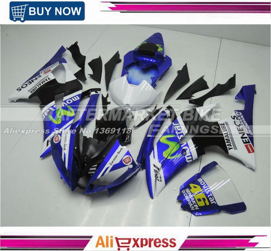 ABS Version OEM Fitment Superbike Fairing Kit för Yamaha YZF R6 - Motorcykel tillbehör och delar
