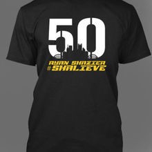 5aff66b8a Ryan Shazier T-Shirt Pittsburgh Football Team Tribute 50 Shalieve T-Shirts  Cool Casual