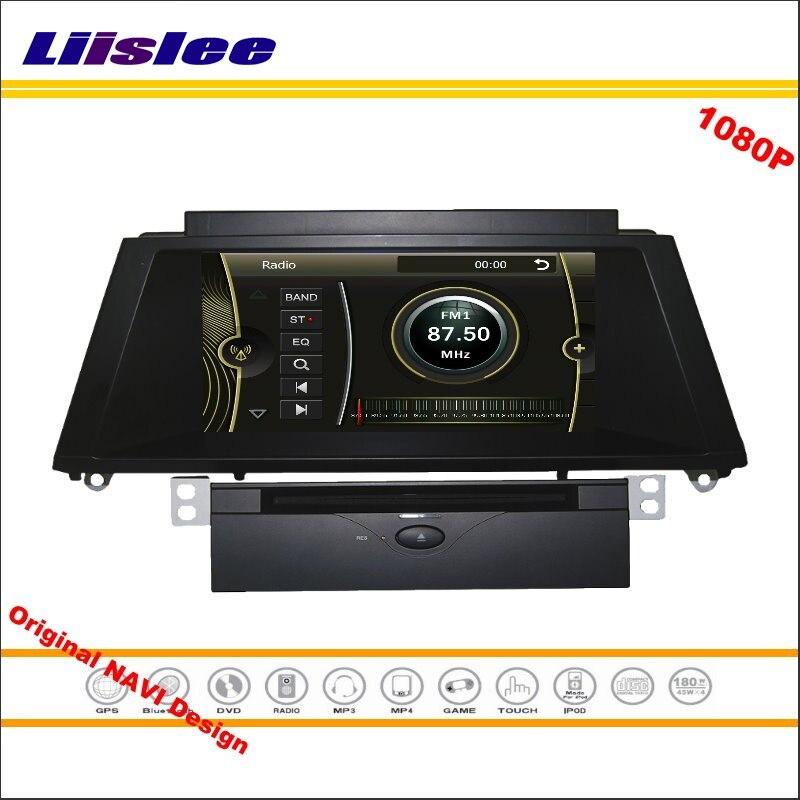 Liislee For BMW X5 / X6 2011~2014 Car Stereo Radio DVD Player GPS Nav Map Navigation 1080P HD Screen System Original NAVI Design