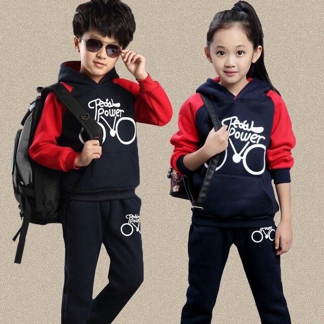 6062ba722 clothing set boys girls clothing sport suit children girls clothes child  active costume boy suits clothes for boys set coat