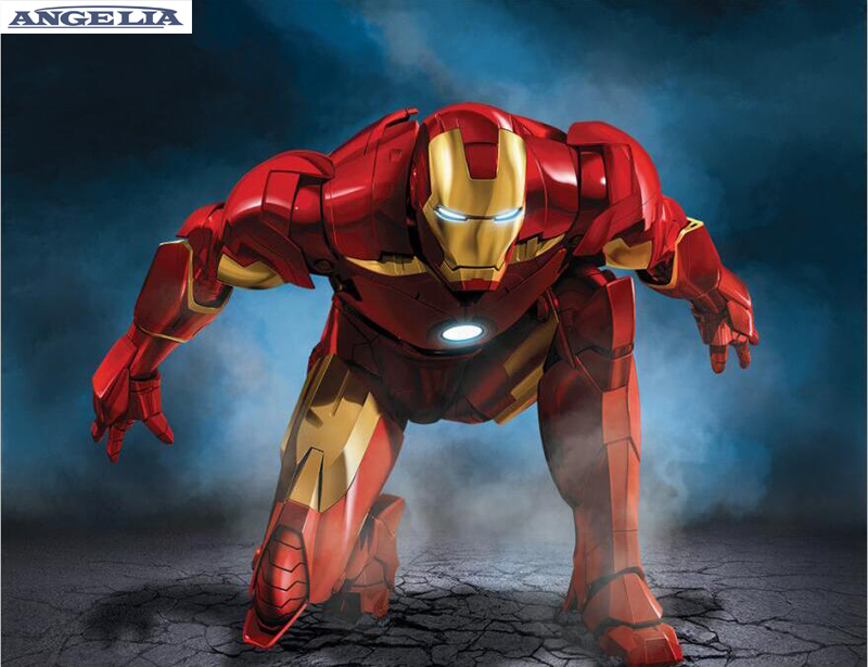 Modern Decorative Picture Iron Man Helmet Movie Painting ... |Man Canvas Print