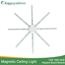 Kaguyahime 12W 16W 20W 24W Ceiling Light Led Accessory Octopus Magnetic Plate Ring Led Lamp 220V 240V For Ceiling Lamp Replace(China)