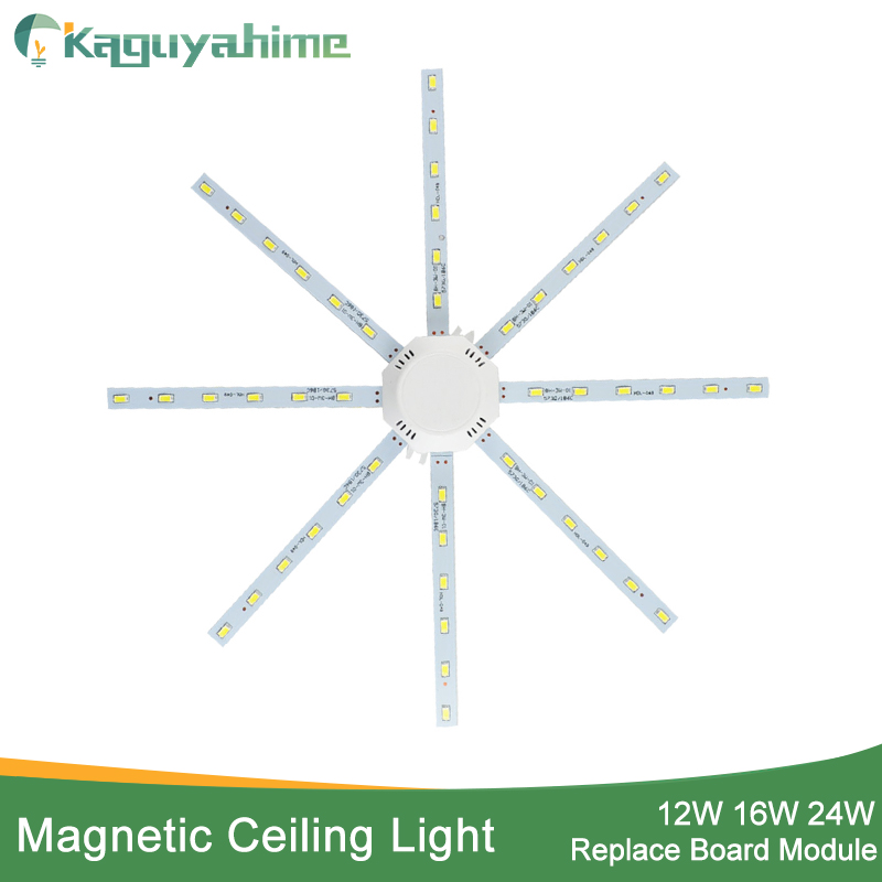 Kaguyahime 12W 16W 20W 24W Ceiling Light Led Accessory Octopus Magnetic Plate Ring Led Lamp 220V 240V For Ceiling Lamp Replace