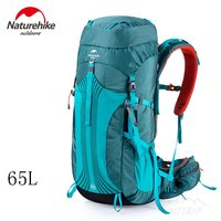 NatureHike Outdoor Backpack 65L 55L Men Women Camping Hiking Climbing Rucksack Large Sport Waternight Backpack For