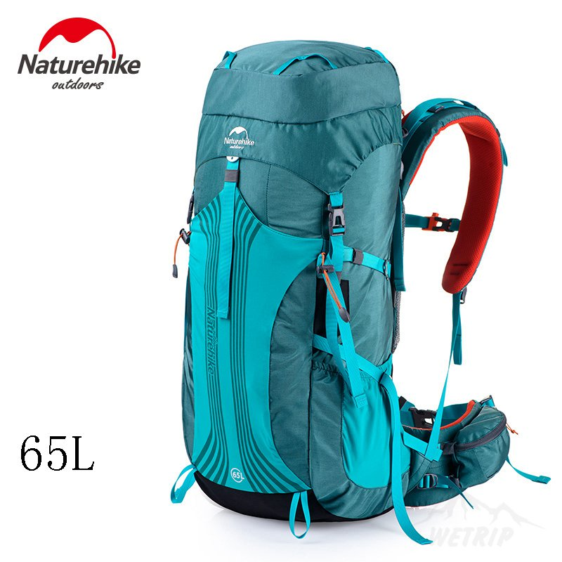 Naturehike al aire libre 55l 65l mochila mujeres de los hombres que acampan yend