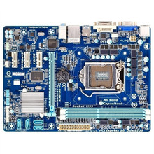 Для Gigabyte GA-H61MA-D2V рабочего Материнская плата H61MA-D2V H61 LGA 1155 i3 i5 i7 DDR3 микро-atx корпус полностью Тесты