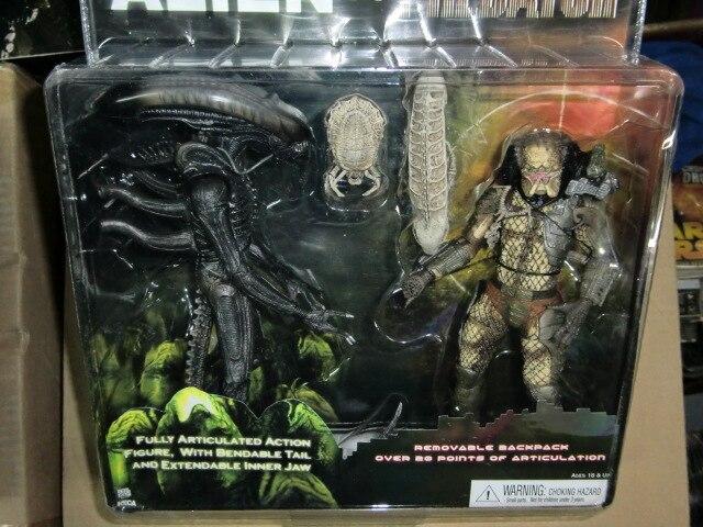 SAINTGI Alien vs Predator AVP ABS 20cm Anniversary Colonial Marine Corps Action Figure kids toy MOVIE Film Predator QUEEN saintgi play arts alien vs predator