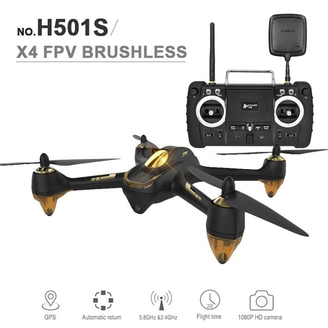 Nueva Original Hubsan X4 FPV Sin Escobillas H501S GPS Quadcopter con FPV1 Transmisor y 1080 P HD de La Cámara