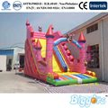 2016 Large Used Kids Size Inflatable Toys Castle Slide For Outside