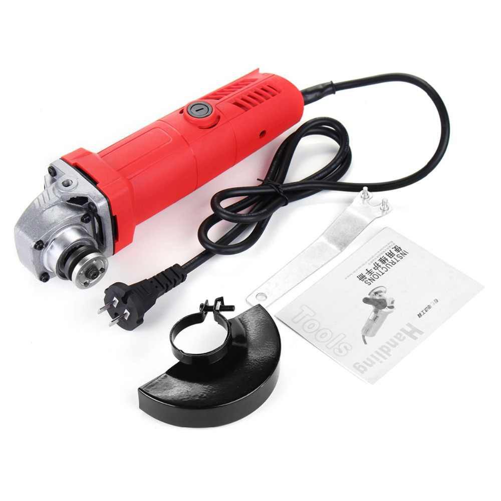 ALLSOME 800W 100mm 220V Portable Electric Angle Grinder Household Polish Machine Grinding Cutting Polishing Power Tools HT1926