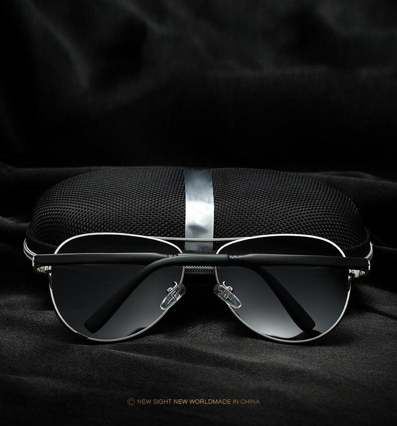 Bruno Dunn 2020 Aviation Men Sunglasses Polarized Sun Glases oculos de sol masculino aviador UV400 high quality  Sunglases 3