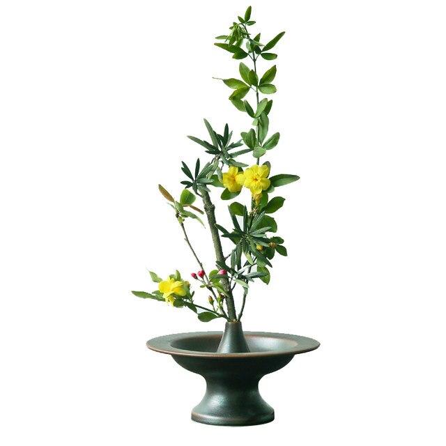Online Shop Zen Japanese Flower Arrangement Ikebana Vase Tea Room
