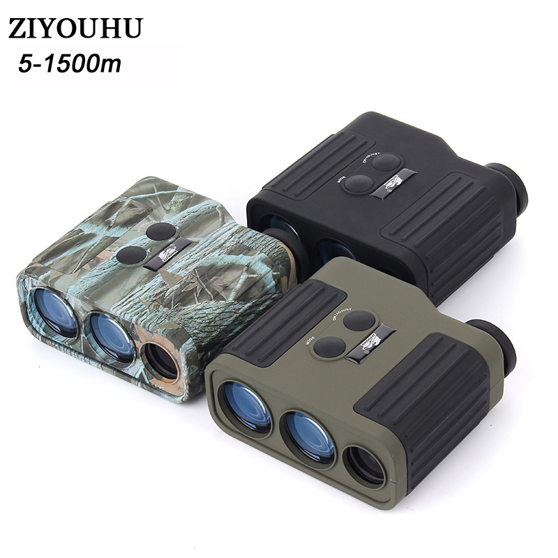 7X25 Golf Laser Range Finder For Hunting WIith Range Measurement 1500M Distance For Golf And Engineering Mapping LW1500SPI