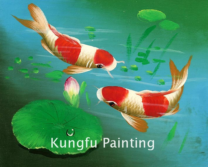 Online buy wholesale koi fish painting from china koi fish for Cheap koi fish