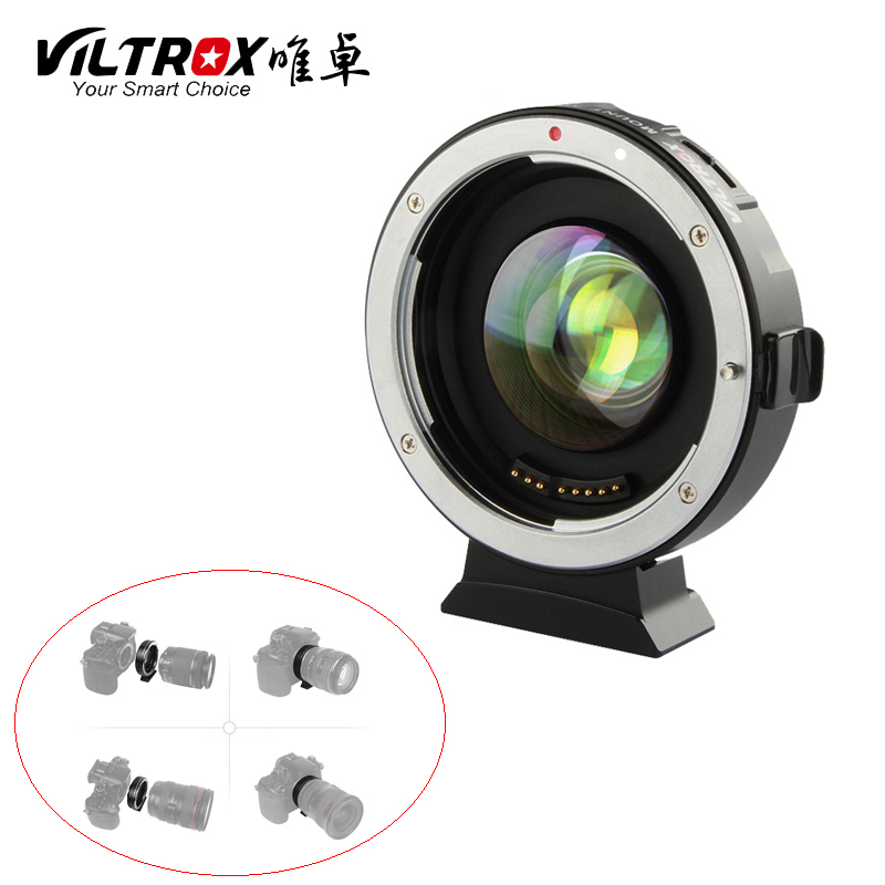 Viltrox EF-M2 Autofocus Adaptateur Booster 0.71X Pour Canon EF Objectif à M43 MTF