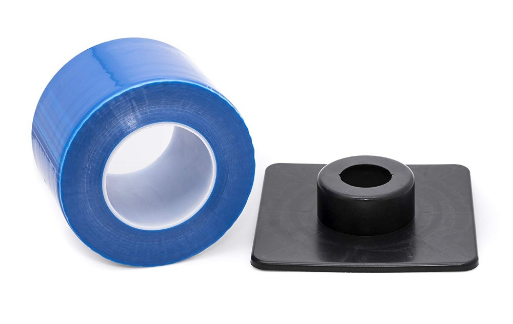 1200 Sheets Barrier Film Roll, 33 Percent More than Standard - Bonus Dispenser - Defend Against Infections, Dental and Tattoo