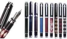 12x Fountain Pen M Nib Iridium ou Gel Rollerball pen DUKE 116 padrão atacado escritório e material escolar Frete Grátis