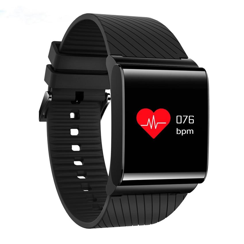 bbd9f56e4a8ff6 Mężczyźni kobiety Fitness Sport inteligentny zegarek z krokomierzem  bransoletka ciśnienia krwi tlenu we krwi tętno wykrywania