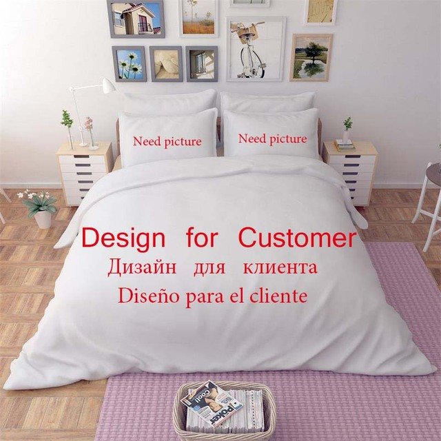 Custom Made 3D Printed Queen/King/ Sing Size Bedding Sets Quilt Cover
