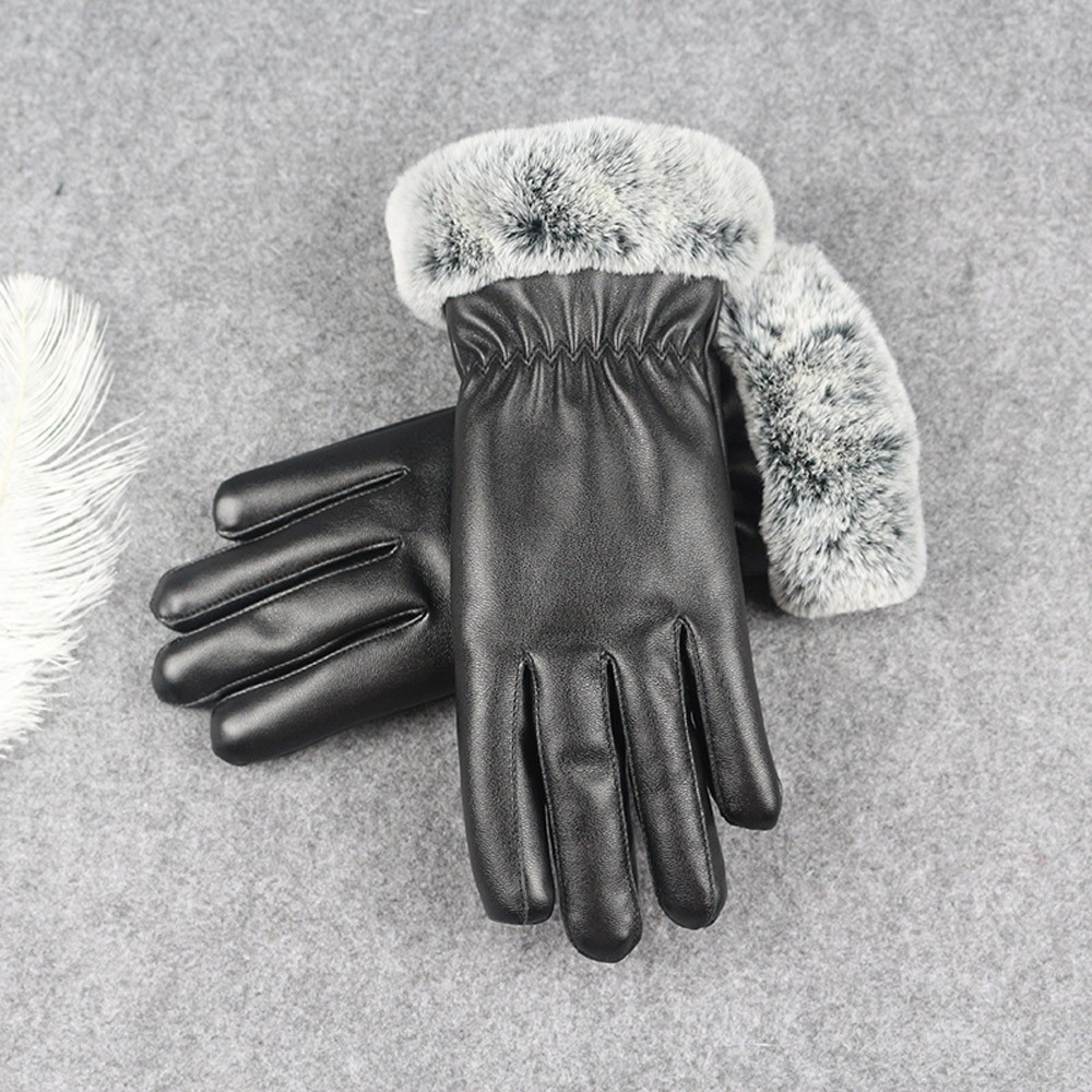 2018 Winter New Ladies Women Soft Sheepskin Suede Fabric Gloves With Lining Driving Back To Search Resultsapparel Accessories