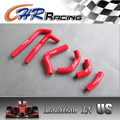 silicone radiator coolant hose kit for Honda CRF450R CRF 450 R 2002 2003 2004 02 03 04 red